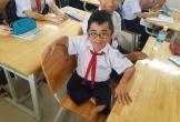 Nghị lực đến trường của nam sinh
