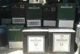 Hải quan phối hợp bắt giữ xe ô tô vận chuyển 480 chai rượu Macallan