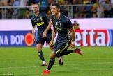 Ronaldo lập công, Juventus chễm chệ trên đỉnh bảng