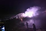 Quảng Nam: Tàu cá lại cháy trong đêm, thiệt hại tiền tỉ