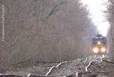 Đoạn đường sắt ngoằn ngoèo như đường đèo tại Mỹ