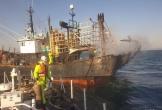 Cháy tàu cá ở Hàn Quốc, 1 người Việt Nam thiệt mạng