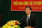 Thứ trưởng Nguyễn Khánh Ngọc: Tư pháp Quảng Bình cần chủ động trong công tác tham mưu