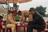 CSGT Quảng Bình phát hiện một tài xế container sử dụng ma túy