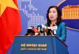 Việt Nam lên tiếng việc tàu Mỹ đi qua quần đảo Trường Sa của Việt Nam