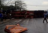 Xe container tông liên hoàn trên QL 1A, nhiều người thương vong