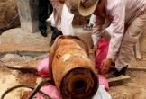 Đào móng nhà, phát hiện quả bom hơn 300kg còn nguyên ngòi nổ