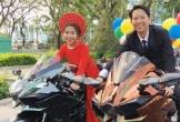 Đoàn rước dâu toàn xe đắt tiền ở thành phố Quy Nhơn