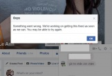 Facebook 'sập' lúc nửa đêm: Không thể gửi ảnh, chat thoại qua Messenger, không cập nhật được Newsfeed