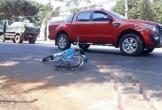 Một học sinh lớp 7 bị xe khách kéo lê gần 30 mét sau tai nạn