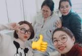 Cười đau ruột cảnh bà đẻ thở không ra hơi còn lũ bạn thân lôi vào chụp ảnh tự sướng trước lúc lâm bồn