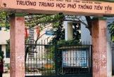 Hàng trăm học sinh ở Quảng Ninh nghỉ học bất thường