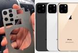 Khung iPhone 2019 rò rỉ với ba camera sau