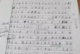 Bé gái bị xâm hại suốt 8 năm viết thư tay tố cáo 11 người
