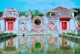 Tam quan chùa Bà Mụ, điểm check-in mới nổi ở Hội An