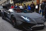 Độc đáo chiếc Lamborghini Aventador SV phủ kín pha lê lấp lánh