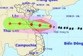 Bão số 4 di chuyển nhanh, đổ bộ vào Nghệ An-Quảng Bình trong sáng mai 30-8