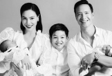 Hồ Ngọc Hà khoe ảnh chụp cùng chồng và 3 con, Kim Lý kể chuyện hồi mới yêu