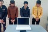 Bắt giữ nhóm thanh niên thực hiện nhiều vụ trộm cắp