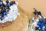 Trung Quốc: Mưa lũ phá hủy hàng nghìn ngôi nhà, nhiều đập bị vỡ