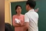 Clip: Nam sinh xông lên bục giảng tát cô giáo để đòi điện thoại, chửi bậy giữa lớp
