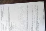 Nghi vấn lộ đề kiểm tra môn Toán lớp 9