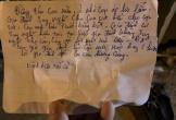 Nam thanh niên nghi nhảy cầu tự vẫn để lại thư tuyệt mệnh