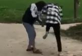 Xác minh clip 2 nữ sinh đánh nhau trên đường làng