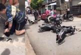 Hàng chục người vây bắt nam thanh niên cướp giật trên phố Hải Phòng