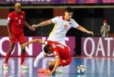 Tuyển futsal Việt Nam gần hết cơ hội đi tiếp ở World Cup