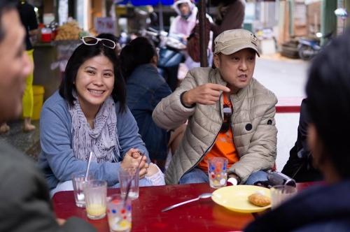 Bà Hạnh Nhân và ông Park Hee Jun