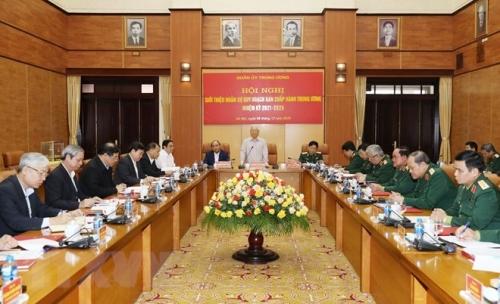 Tổng Bí thư, Chủ tịch nước Nguyễn Phú Trọng, Bí thư Quân ủy Trung ương