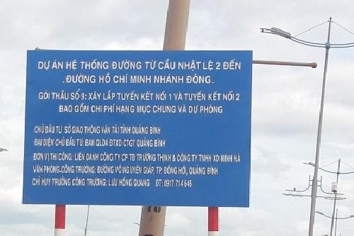 Quảng Bình: Nhà thầu thi công dự án trọng điểm 930 tỷ đồng có nhiều chuyện lạ