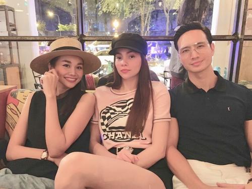 Thanh Hằng và Hồ Ngọc Hà.