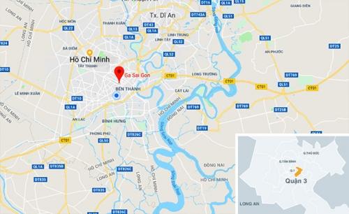Vị trí Ga Sài Gòn
