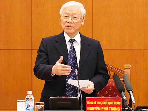 Tổng Bí thư - Chủ tịch nước Nguyễn Phú Trọng