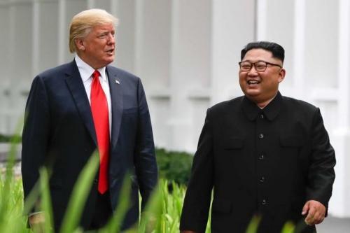Ông Trump và ông Kim